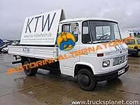 MERCEDES T2/LN1 Camion basculant